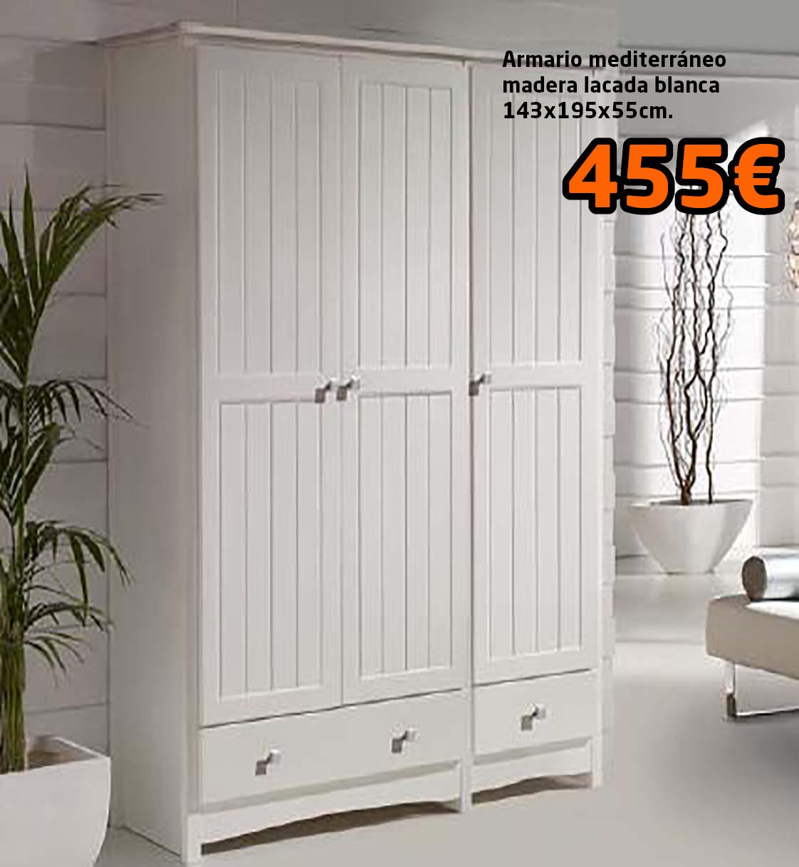 armario 3 puertas mediterraneo   Mikeli, tu tienda de muebles a ...