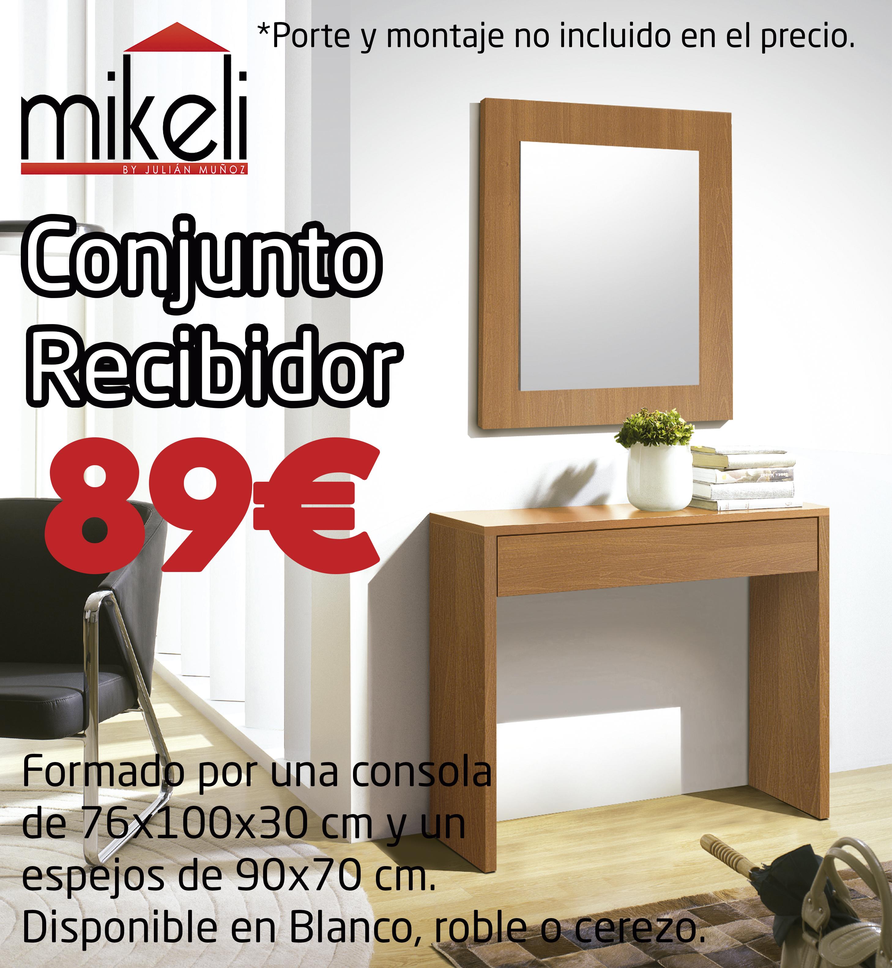 Conjunto Recibidor 2 Gilabert Mikeli Tu Tienda De Muebles A  # Muebles Gilabert
