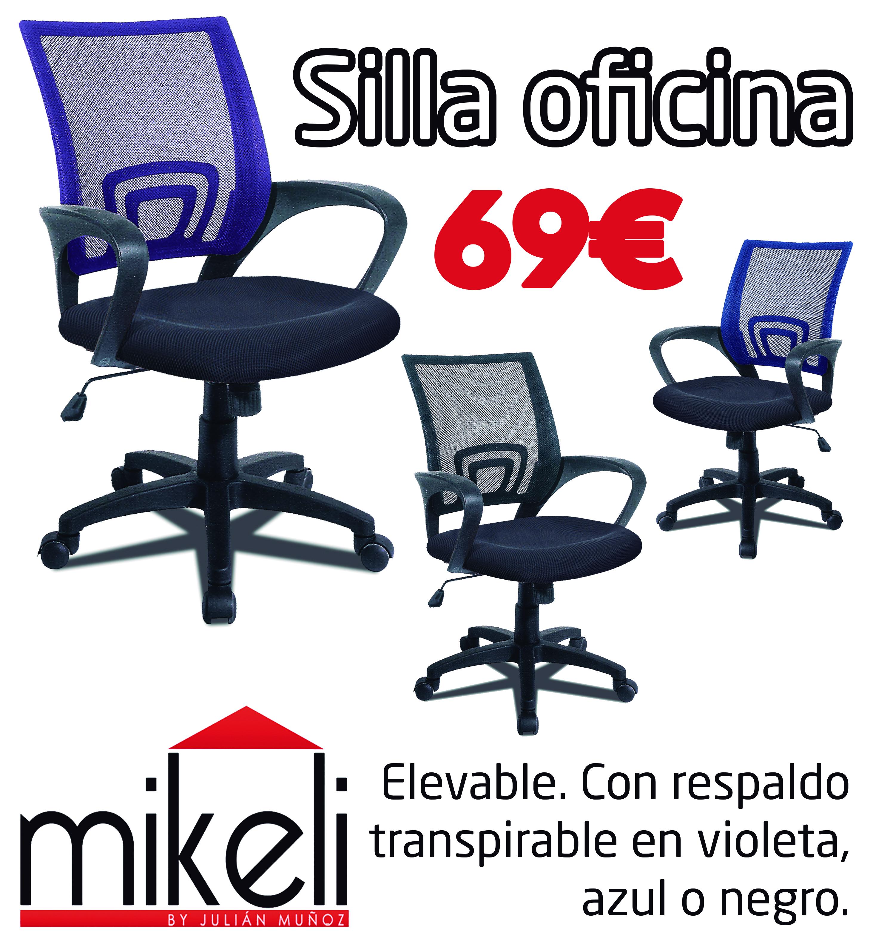 sillas-oficina | Mikeli, tu tienda de muebles a precios increíbles ...