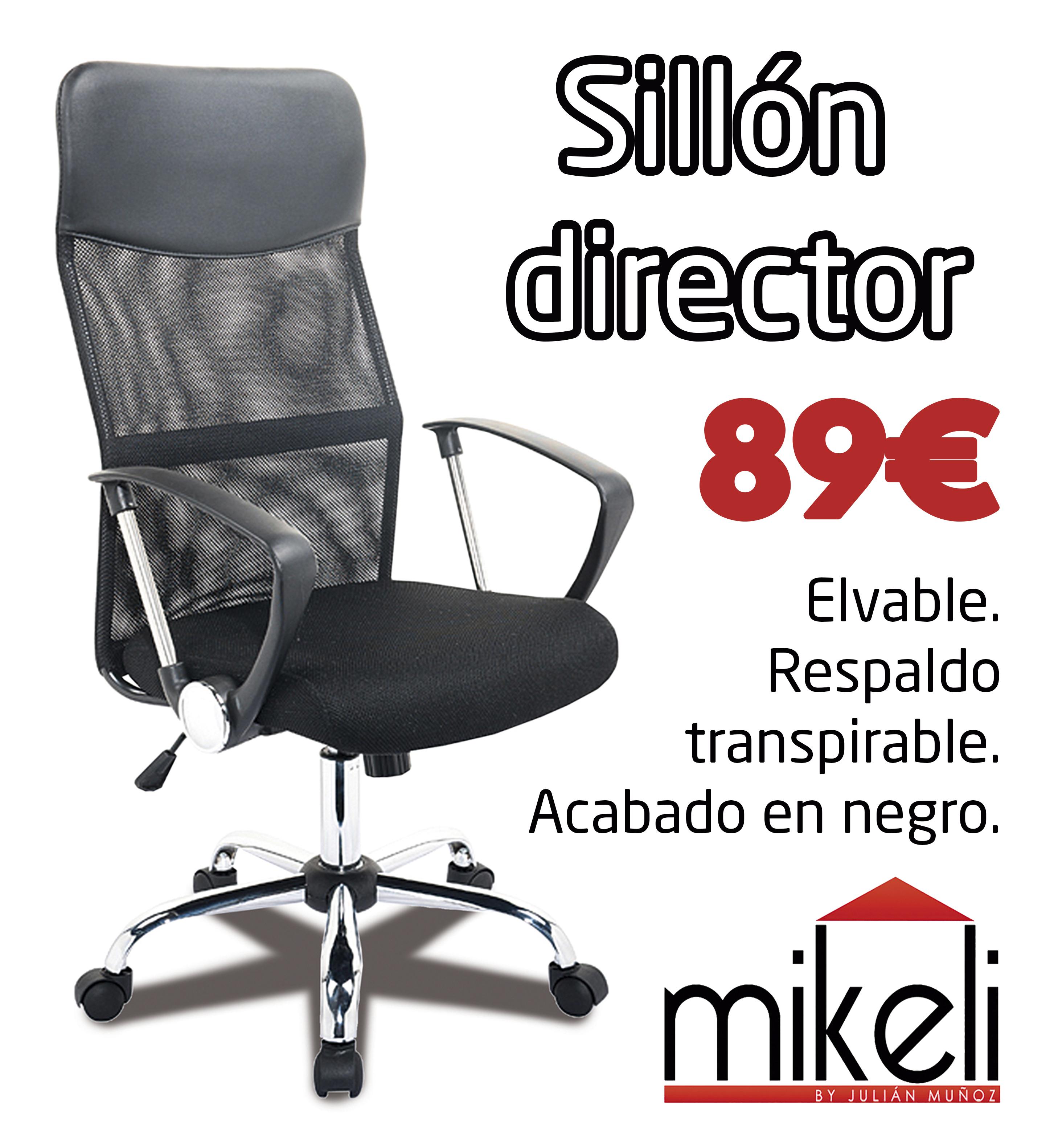 Sillon Director Transpirable Mikeli Tu Tienda De Muebles A  # Muebles Didecor