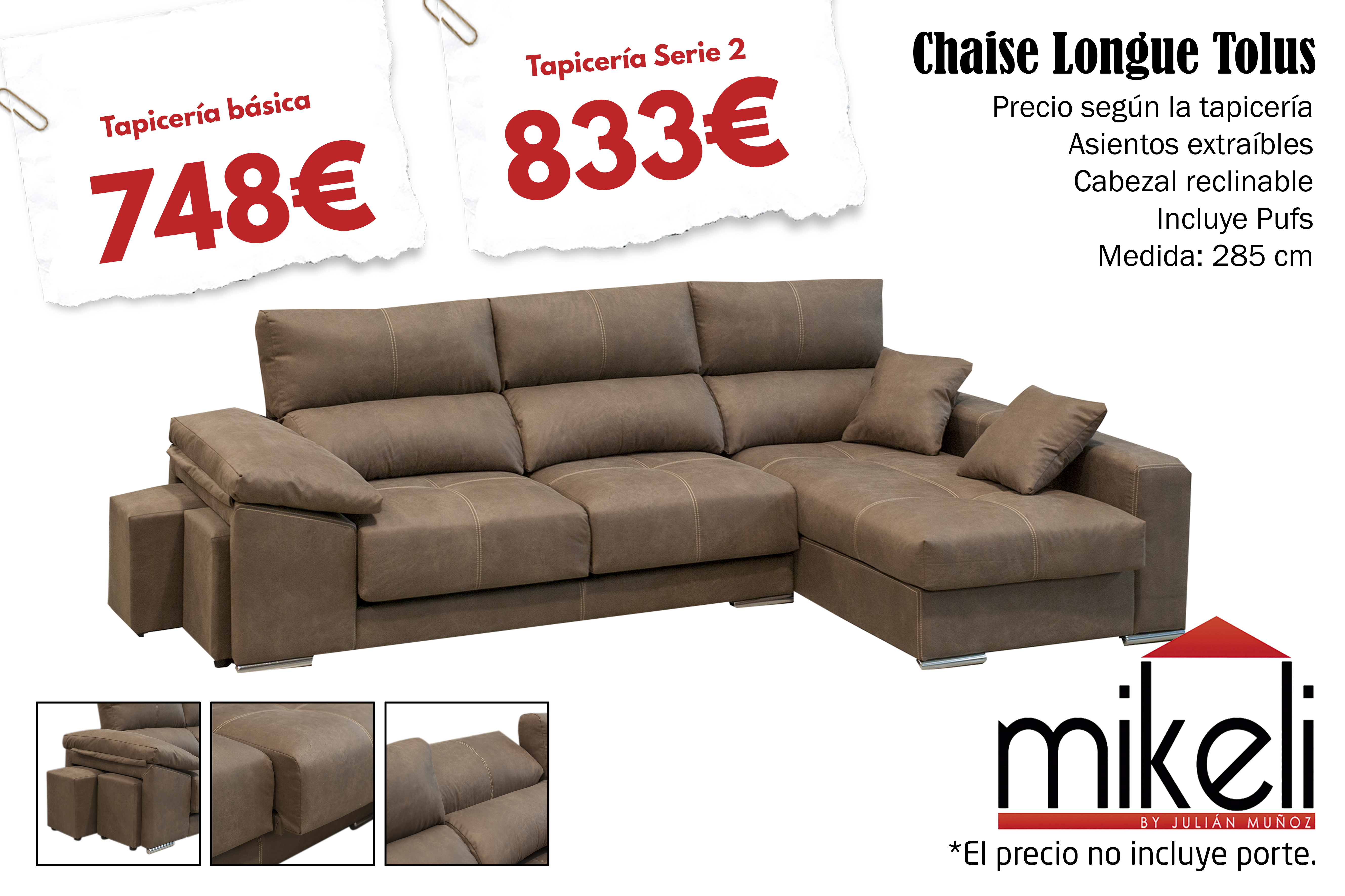 Sofa Tolus Mikeli Tu Tienda De Muebles A Precios Incre Bles En  # Muebles A Medida Ceuta